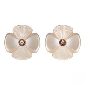 Blumenohrring, silk, 3 cm, 98 Euro